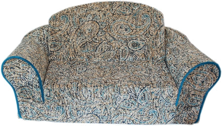 Boho Blues Pull Out Pet Sleeper Sofa Bed