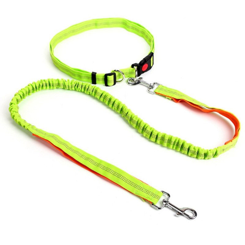 Pet  Running Leashes Hands Free