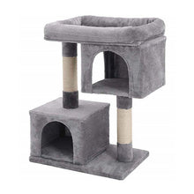 Load image into Gallery viewer, Cat Tree With Sisal Scratching Post Climbing