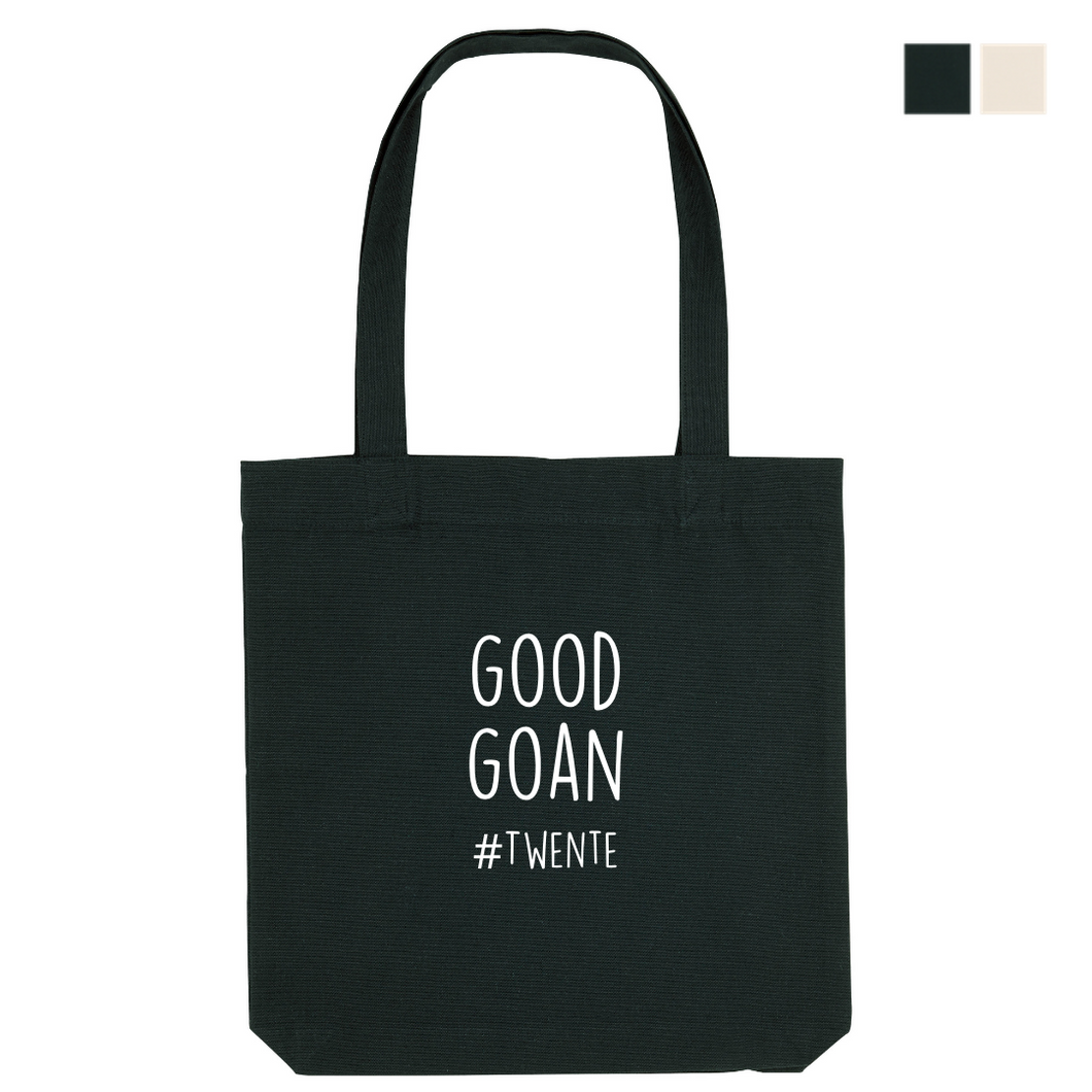 Good Goan - Organic Canvas Tas