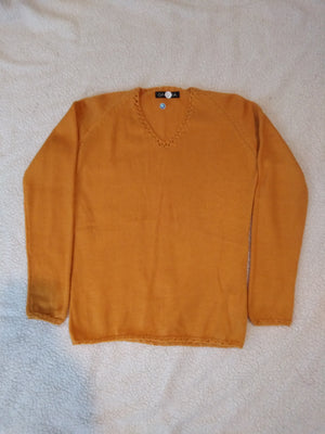 Alpaca V-Neck Sweater