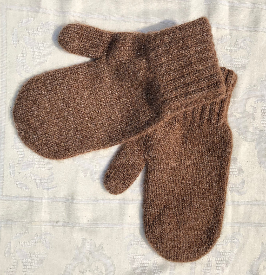Alpaca Lined Mittens super warm