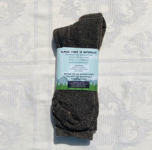 Alpaca Backpaca Sock