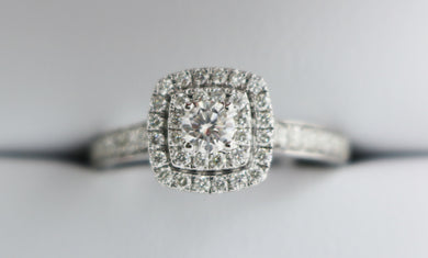 9ct Diamond Ring 0.75ct