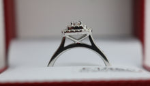 Load image into Gallery viewer, 9ct Diamond Ring 0.75ct
