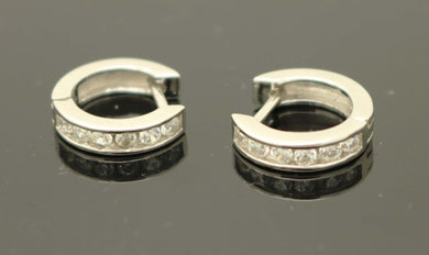 Huggie CZ Earrings