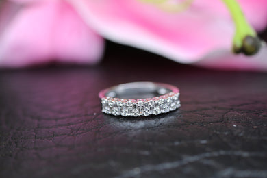 9ct White Gold Diamond Ring 0.36ct - HJ2046