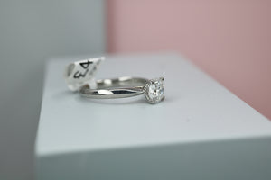 Platinum Diamond Engagement Ring 1.00ct - HJ2083