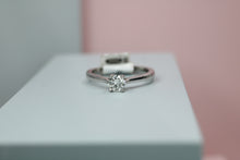 Load image into Gallery viewer, 18ct White Gold Diamond Ring 0.51ct- HJ2088