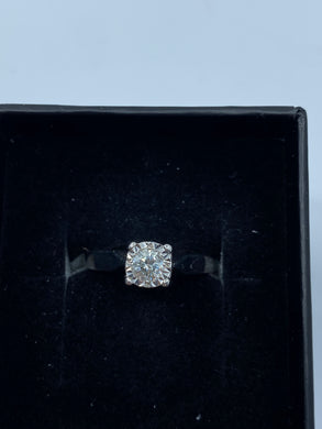 18ct White Gold & Diamond 0.25ct - HJ027
