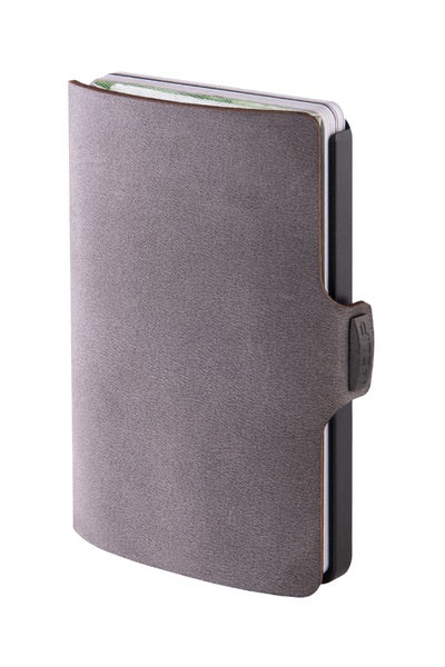 I-clip wallet soft touch - Grey