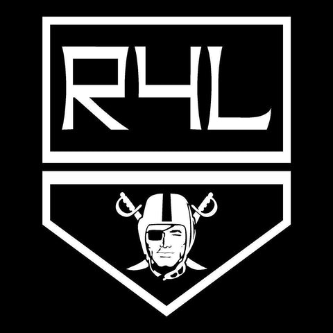 LA KINGS Shield - Raiders 4 Life Decal/Window Sticker