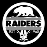 Seal of California - Raiders 4 Life Decal/Window Sticker