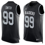 Aldon Smith - Oakland Raiders Limited Edition Basketball Style Jersey