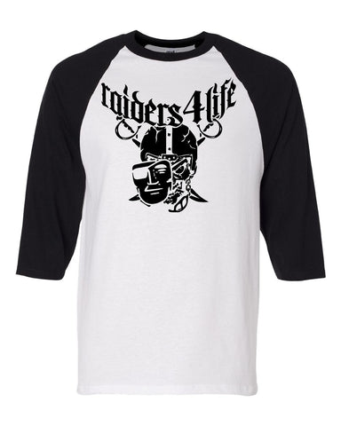 High Roller - Baseball 3/4 Sleeve R4L Tee