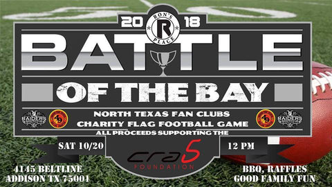Battle of the Bay North Texas Fan Club Charity FlagFootball Game