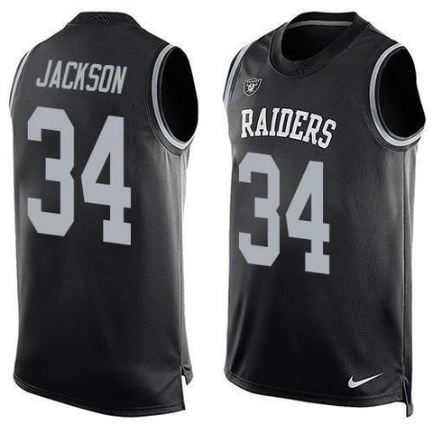 Bo Jackson - Oakland Raiders Limited Edition Basketball Style Jersey