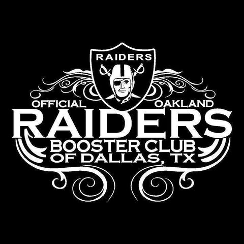 DFW Raiders 4 Life - Raiders 4 Life Decal/Window Sticker