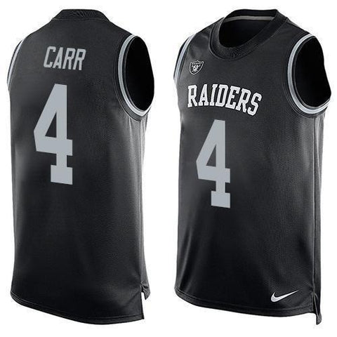 Derek Carr - Oakland Raiders Limited Edition Basketball Style Jersey