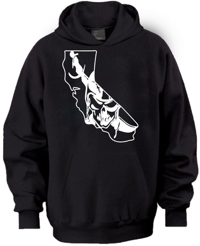 California Map Raiders 4 Life Pullover Hoodie