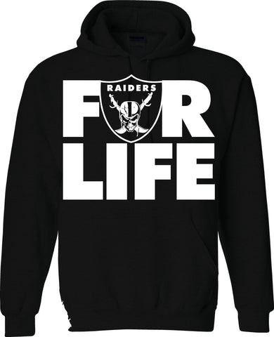 FOR LIFE - Raiders 4 Life Pullover Hoodie