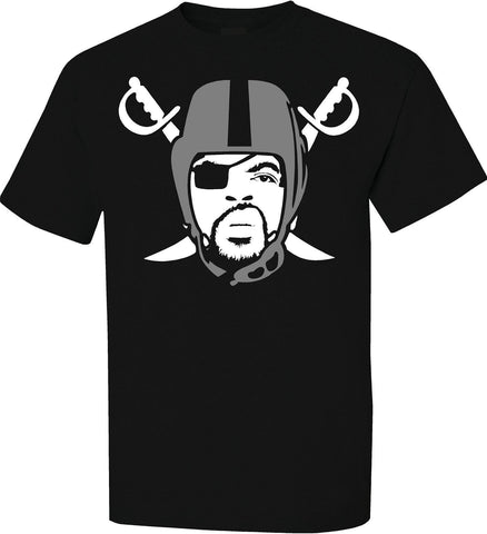 Ice Cube - Raiders 4 Life Tee Shirt
