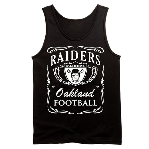 Jack Daniels Raiders 4 Life Tank Top