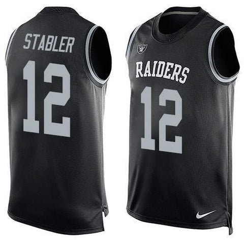 Ken Stabler - Oakland Raiders Limited Edition Basketball Style Jersey