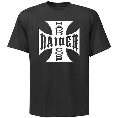 Hardcore Raiders 4 Life Iron Cross Tee Shirt