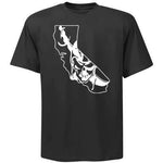 California Map Raiders 4 Life Tee Shirt