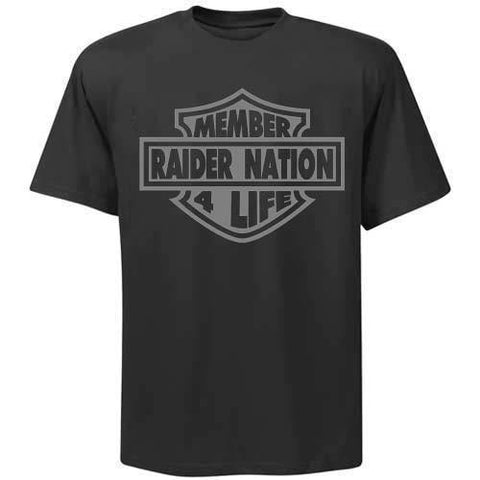Harley Raiders 4 Life Tee Shirt