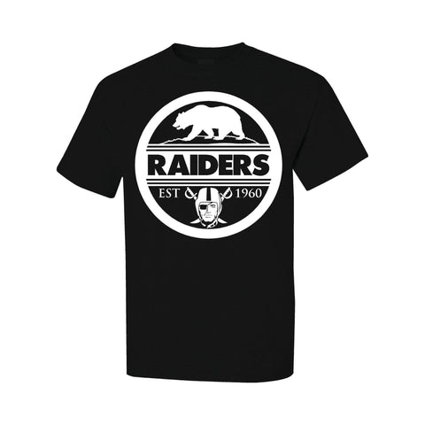 Seal of California - Raiders 4 Life Tee Shirt