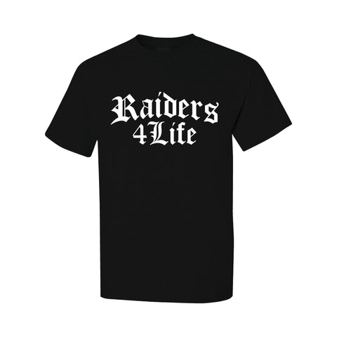 Old English - RAIDERS 4 LIFE Shirt