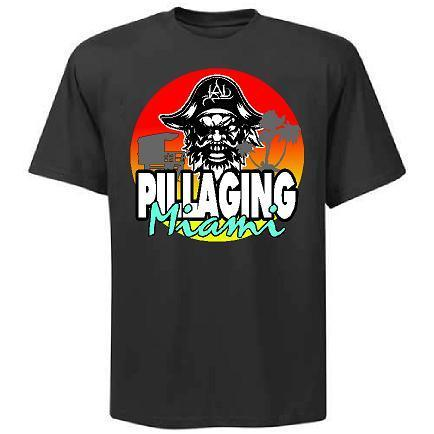 Pillaging Miami 2018 Shirt