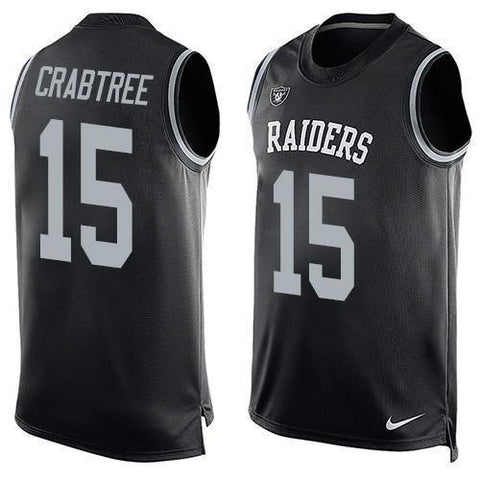 Michael Crabtree - Oakland Raiders Limited Edition Basketball Style Jersey