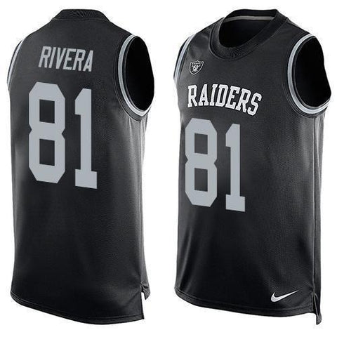 Mychal Rivera - Oakland Raiders Limited Edition Basketball Style Jersey