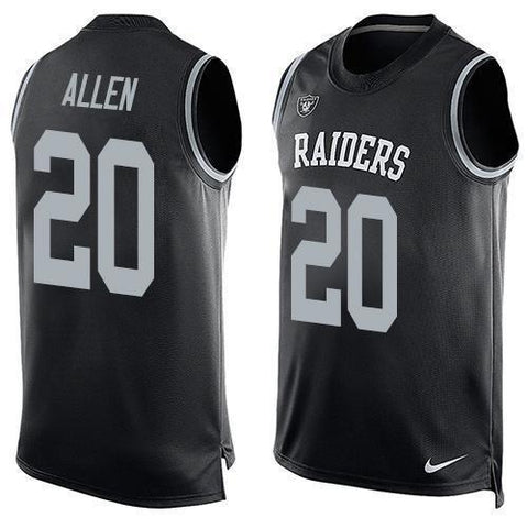 Nate Allen - Oakland Raiders Limited Edition Basketball Style Jersey