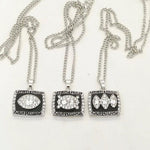 Complete Set of Oakland / Los Angeles Raiders Super Bowl Ring Necklaces