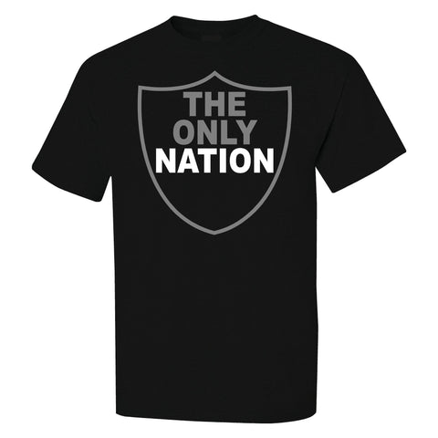 The Only Nation - Raiders 4 Life Tee Shirt