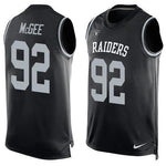 Stacy McGee - Oakland Raiders Limited Edition Basketball Style Jersey