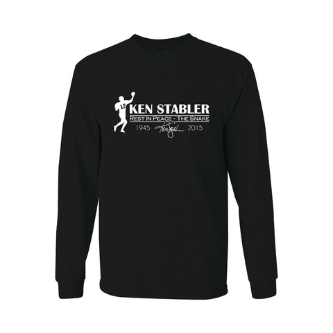 "RIP Ken ""the Snake"" Stabler - Raiders 4 Life Sweater"