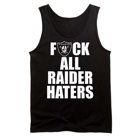 F ALL HATERS Raiders 4 Life Tank Top