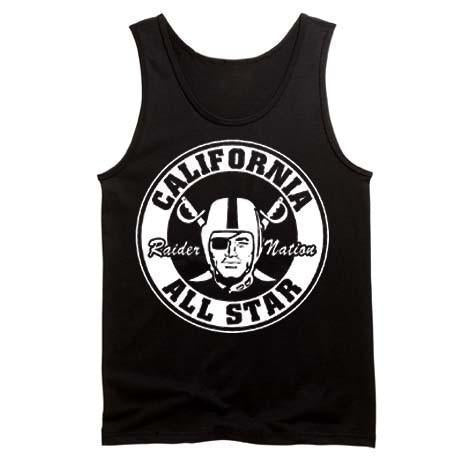 California All Star Raiders 4 Life Tank Top