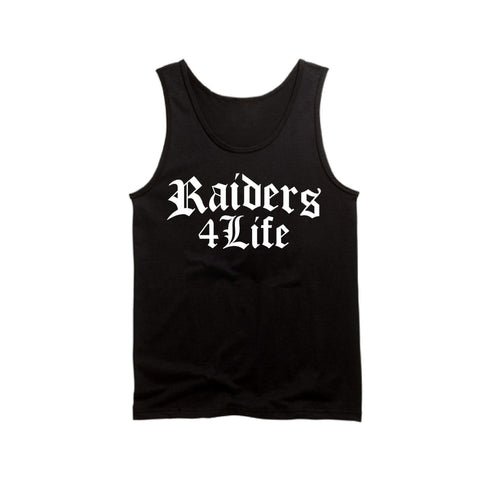 Old English - Raiders 4 Life Tank Top