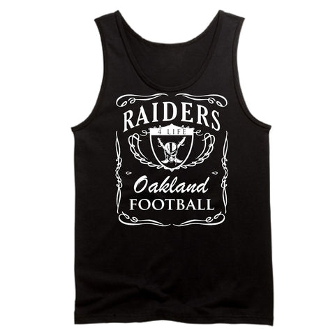 Jack Daniels - Raiders 4 Life Tank Top