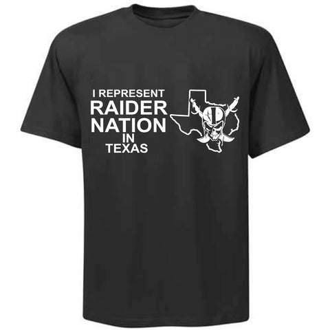 I Represent Raider Nation in Texas - R4L Shirt