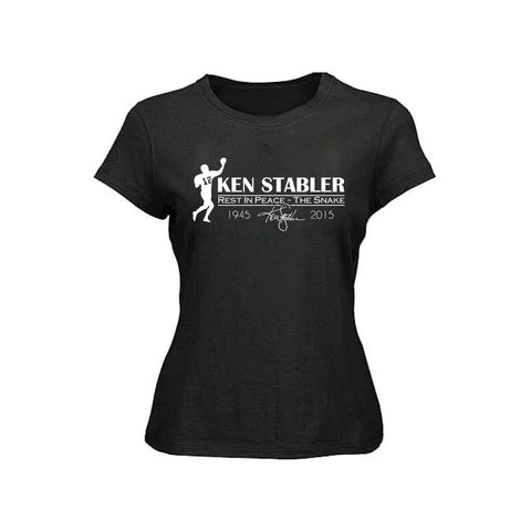 "RIP Ken ""the Snake"" Stabler - Raiders 4 Life Women's Shirt"