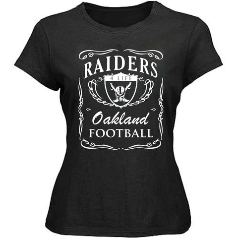 Jack Daniels - Raiders 4 Life Women's Shirt