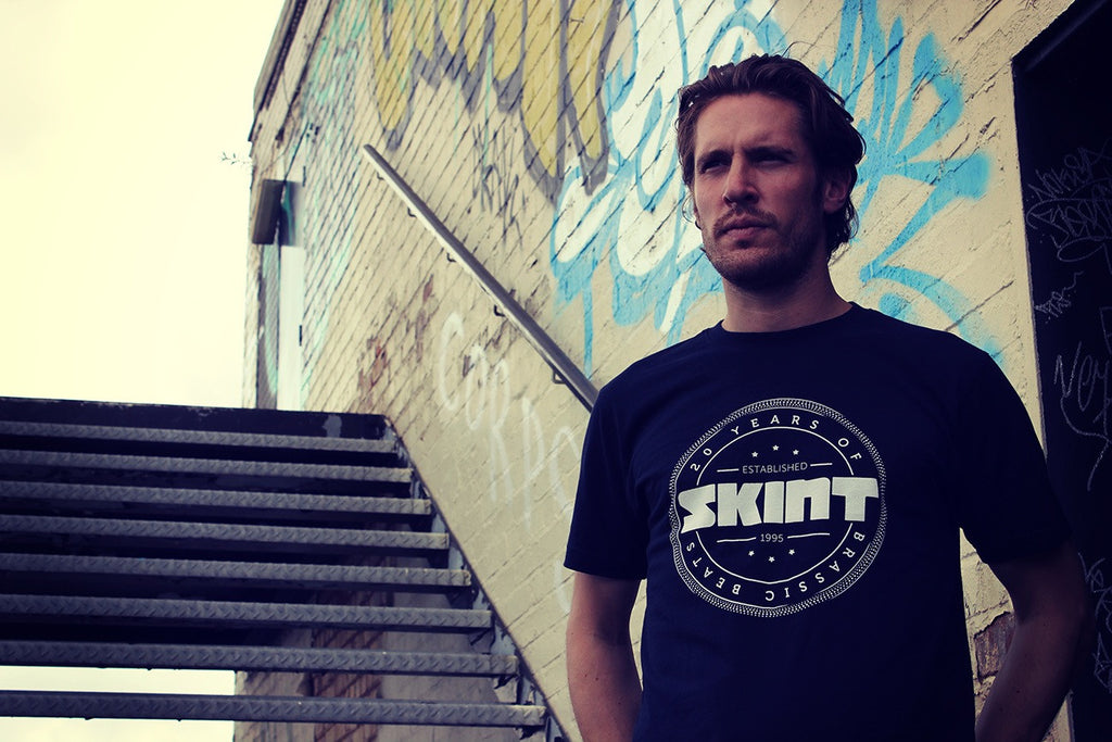 Skint Records 20th Anniversary Navy