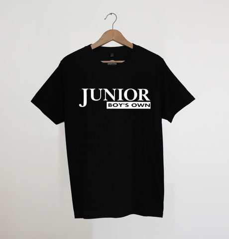 Junior Boys Own Logo Black